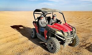 Private Buggy Tour in Makadi Bay am Morgen mit Kamelreiten
