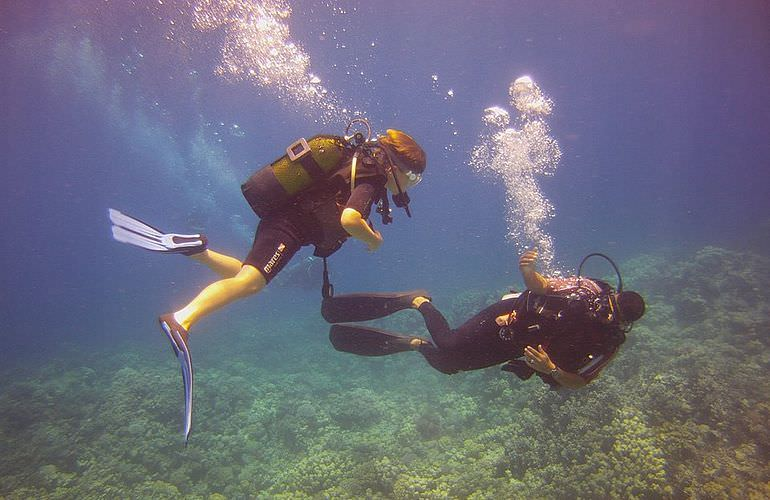 PADI Open Water Diver, der Einsteiger Tauchkurs in Makadi Bay